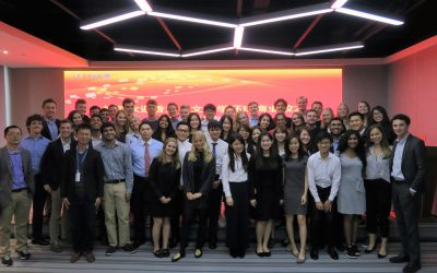 Shenzhen Field Trip: Students Learn How FinTech Reshapes the Chinese Financial Consumer Market