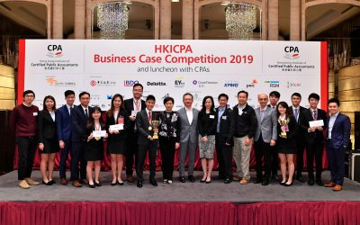 CUHK Business Student Teams Crowned Top Winners at HKICPA Business Case Competition 2019