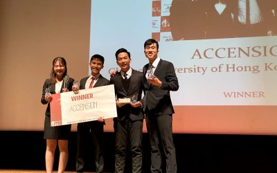 CUHK Student Team Snatched Top Spot at GBCC 2019 in Japan
