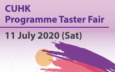 CUHK Programme Taster Fair