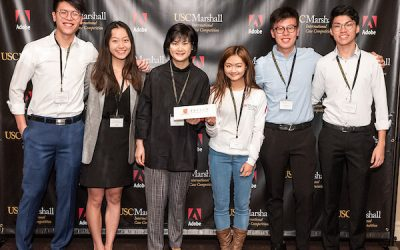 CUHK Students Gain Invaluable Experience and Exposure in Marshall International Case Competition 2020