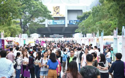 CUHK Orientation Day for Undergraduate Admissions 2018 Drew around 56,000 Visitors