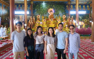 Graduate Study Trip to Cambodia Draws Perfect Conclusion for IBCE Students