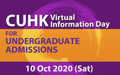 CUHK Virtual Information Day- Online Admission Talks