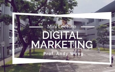 Digital Marketing Mini Lecture Shines Light on the Disruption and Transformation of Strategic Marketing