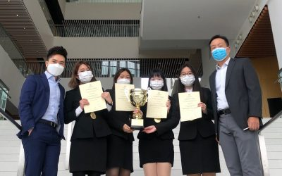 CUHK Teams Take Top Spots at the HKICPA Business Case Competition 2020
