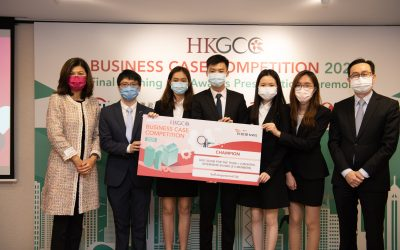 Global Business Studies Student Team Celebrates as Champions of Hong Kong General Chamber of Commerce Business Case Competition