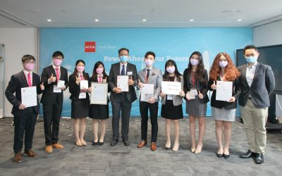 CUHK Teams Bring Home ACCA Hong Kong Business Competition Championship and First Runner-up Award