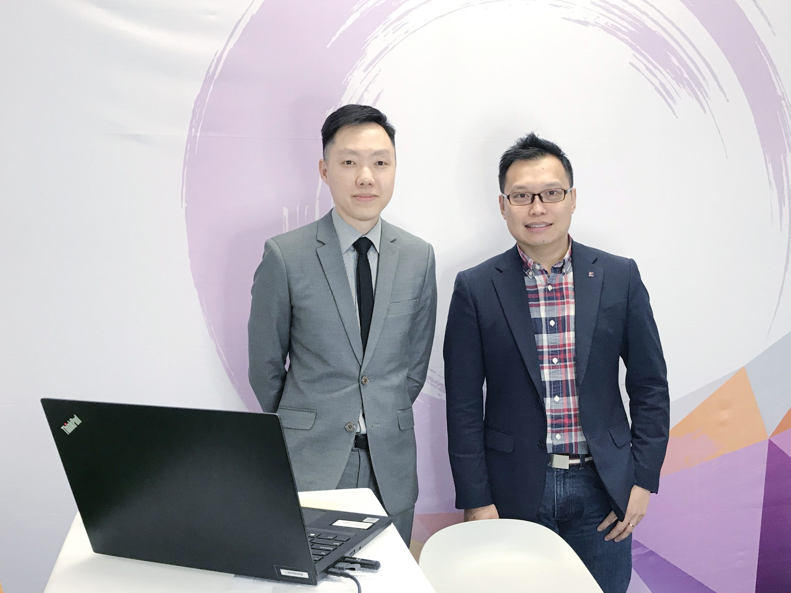 Dr. Fred Ku (Assistant Dean, Undergraduate Studies)(right) and Dr. Anson Au Yeung (Programme Co-Director, Asian Business Studies) (left) offered a warm welcome to the online audience before the talk began.