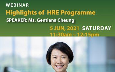 "Webinar ""Highlights of HRE Programme"""