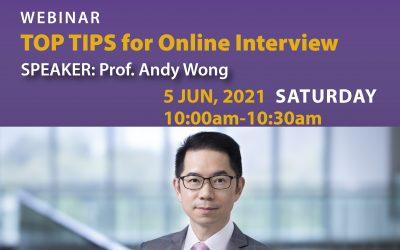 """Webinar """"TOP TIPS for Online Interview"""""""
